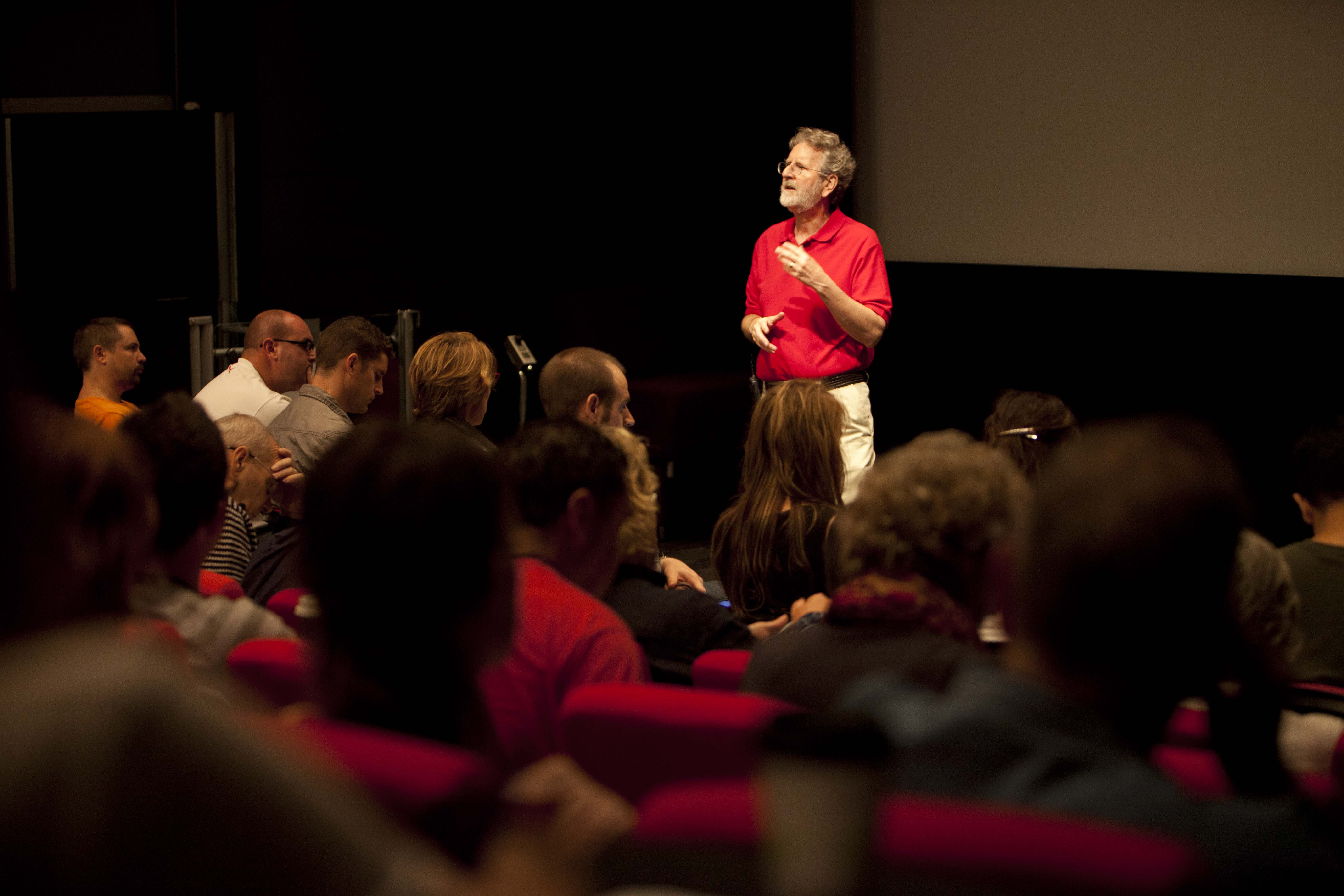 Hollywood Story Coach, Michael Hauge Presents Story Presentations to Large Audiences All Over the World