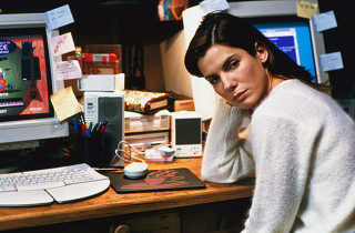 Sandra Bullock in The Net Movie